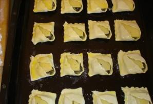 Закусочные пирожки с грибами и сыром - фото шаг 4