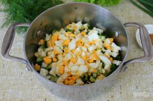 Грибной холодный суп - фото шаг 5