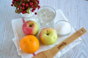 Компот из яблок и апельсинов - фото шаг 1