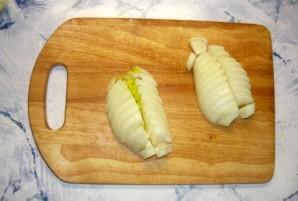 Паэлья с курицей и креветками - фото шаг 3