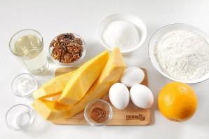 Пирог из тыквы с орехами - фото шаг 1