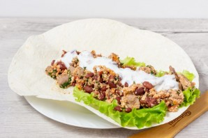 Буррито из индейки на завтрак - фото шаг 8