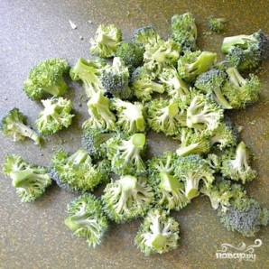Овощной салат с макаронами - фото шаг 5
