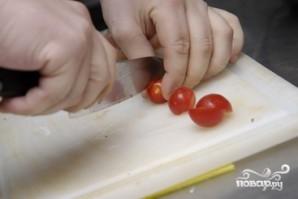 Салат с жареными баклажанами - фото шаг 5