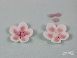 Сахарные цветы - фото шаг 7
