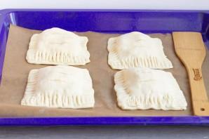 Слойки с дыней и сыром - фото шаг 4