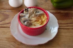 Суфле из кабачков с грибным соусом - фото шаг 7