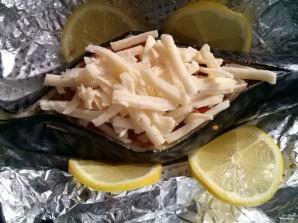 Скумбрия в духовке с сыром - фото шаг 3