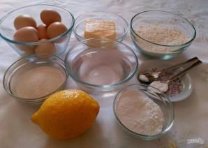 Торт из заварного теста с лимонным курдом - фото шаг 1