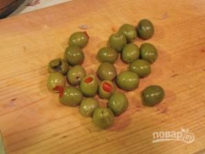 Солянка с колбасой и оливками - фото шаг 8