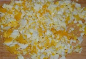 Блины с рисом и яйцом - фото шаг 4