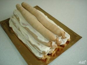 """Торт """"Монастырская изба"""" с вишней - фото шаг 9"""