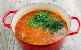 """Суп """"Харчо"""" из говядины  - фото шаг 5"""