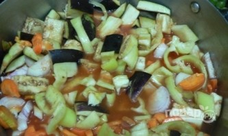Салат из болгарского перца на зиму - фото шаг 3