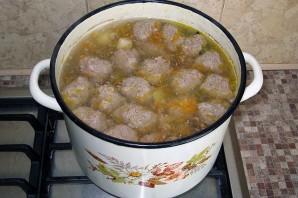 Сырный суп с фаршем - фото шаг 7