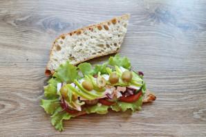 Греческий сэндвич - фото шаг 9
