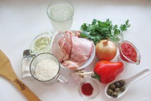 Курица с рисом по-испански - фото шаг 1