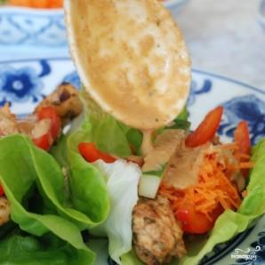 Закуска из курицы и свежих овощей - фото шаг 14