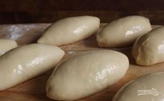 Пирожки с яйцом и зеленым луком - фото шаг 5