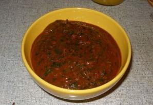 Сацебели из томатной пасты  - фото шаг 7
