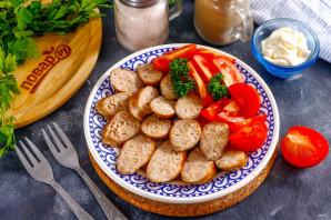Куриная колбаса с салом - фото шаг 7