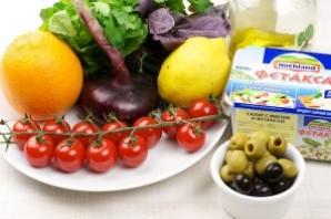 Салат к отбивным - фото шаг 1