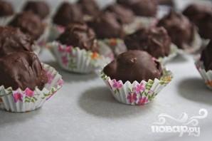 Кокосовые конфеты с миндалем и шоколадом - фото шаг 7