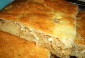 Пирог с капустой из творожного теста - фото шаг 5
