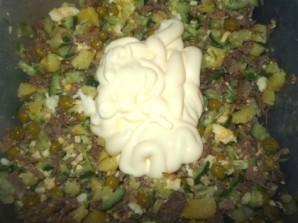 Мясной салат с говядиной - фото шаг 6