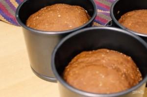 Шоколадный пасхальный кулич - фото шаг 5