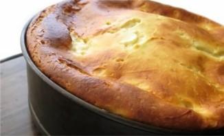 Творожный пирог с яблоками - фото шаг 9