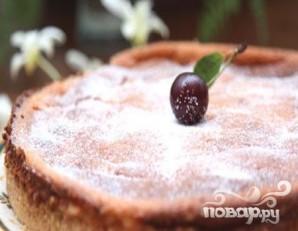Творожный торт с вишней - фото шаг 5