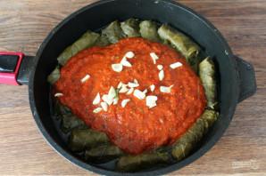 Долма в томатном соусе - фото шаг 7