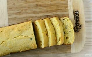Кукурузный хлеб с маслом и яйцом - фото шаг 7