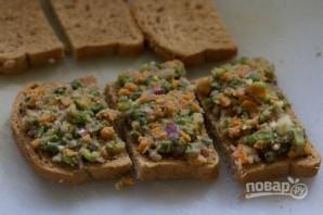 Овощные горячие бутерброды - фото шаг 4