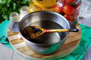 Помидоры с медом на зиму - фото шаг 6
