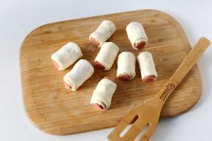 Охотничьи колбаски в тесте - фото шаг 4