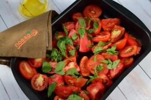 Зимний соус из запеченных помидоров - фото шаг 2