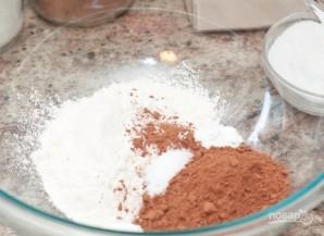 Шоколадное печенье в шоколаде - фото шаг 1
