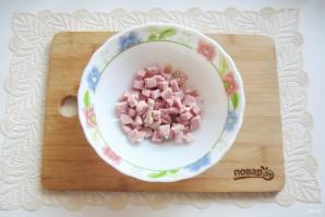 Салат со свининой и солеными огурцами - фото шаг 5