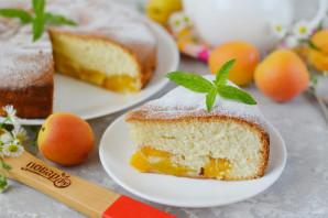 Шарлотка с абрикосами - фото шаг 11