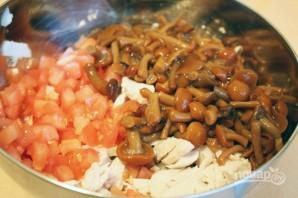 Творожные тарталетки с куриным салатом - фото шаг 6