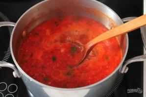 Зимняя заготовка для соуса болоньезе  - фото шаг 7