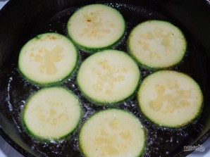 Закуска из кабачков с сыром и чесноком  - фото шаг 1