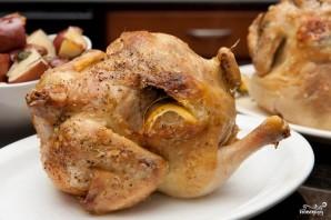 Курица в духовке с лимоном - фото шаг 8