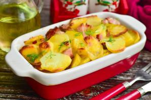 Картошка с карбонатом в духовке - фото шаг 6