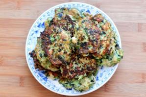 Куриные «растрепки» с овощами, шпинатом и брынзой - фото шаг 5