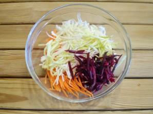 Салат из свеклы для похудения - фото шаг 6
