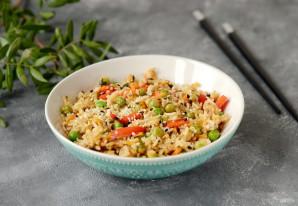 Вок рисом и овощами - фото шаг 7
