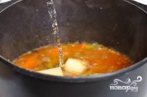 Суп с мясными фрикадельками - фото шаг 10